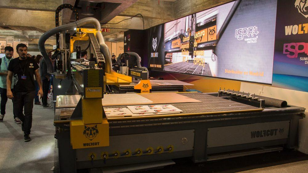 Maquinaria CNC Wolfcut